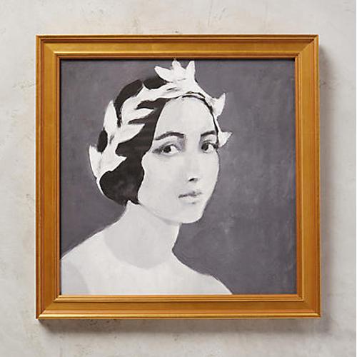 Young Lady Wall Art by Tali Yalonetzki for Artfully Walls