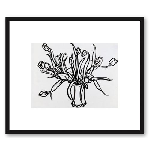 Tulips in Lesterware by Megan Williamson