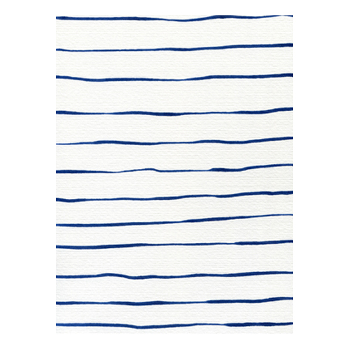 Blue Stripes by Georgiana Paraschiv
