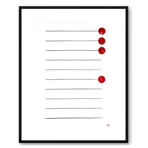 Four Red by Skye Schuchman