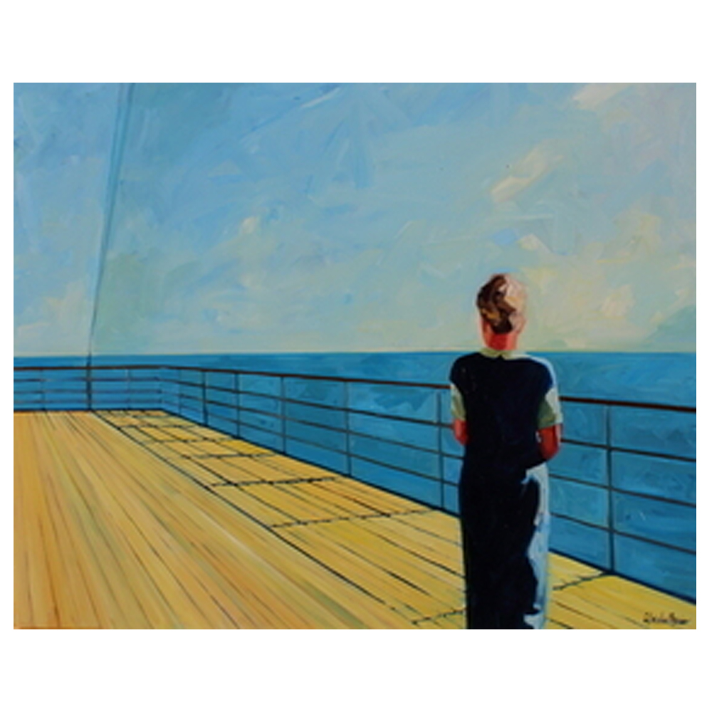 Looking Out to Sea by T. S. Harris