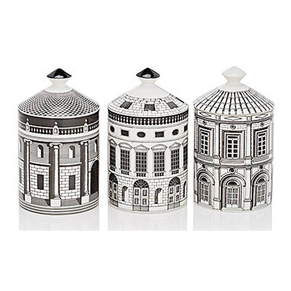 FORNASETTI Ordine Architettonico 3-Candle Set