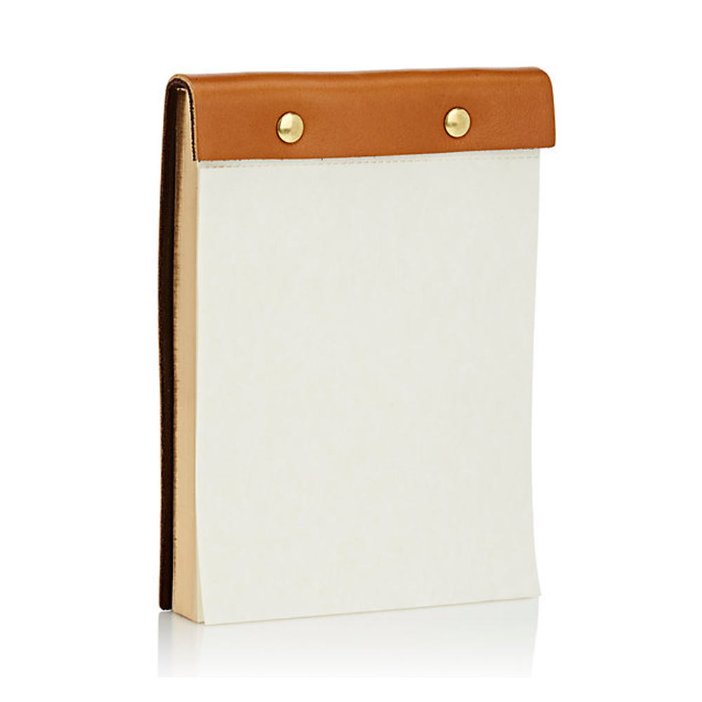 BARNEYS NEW YORK Leather-Bound Notepad