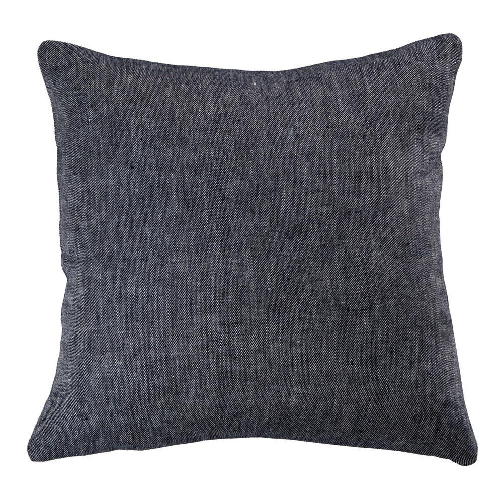 Denim Linen Pillow Cover