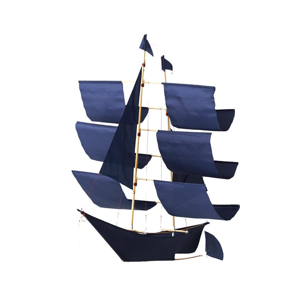 Indigo Sailing Ship Kite
