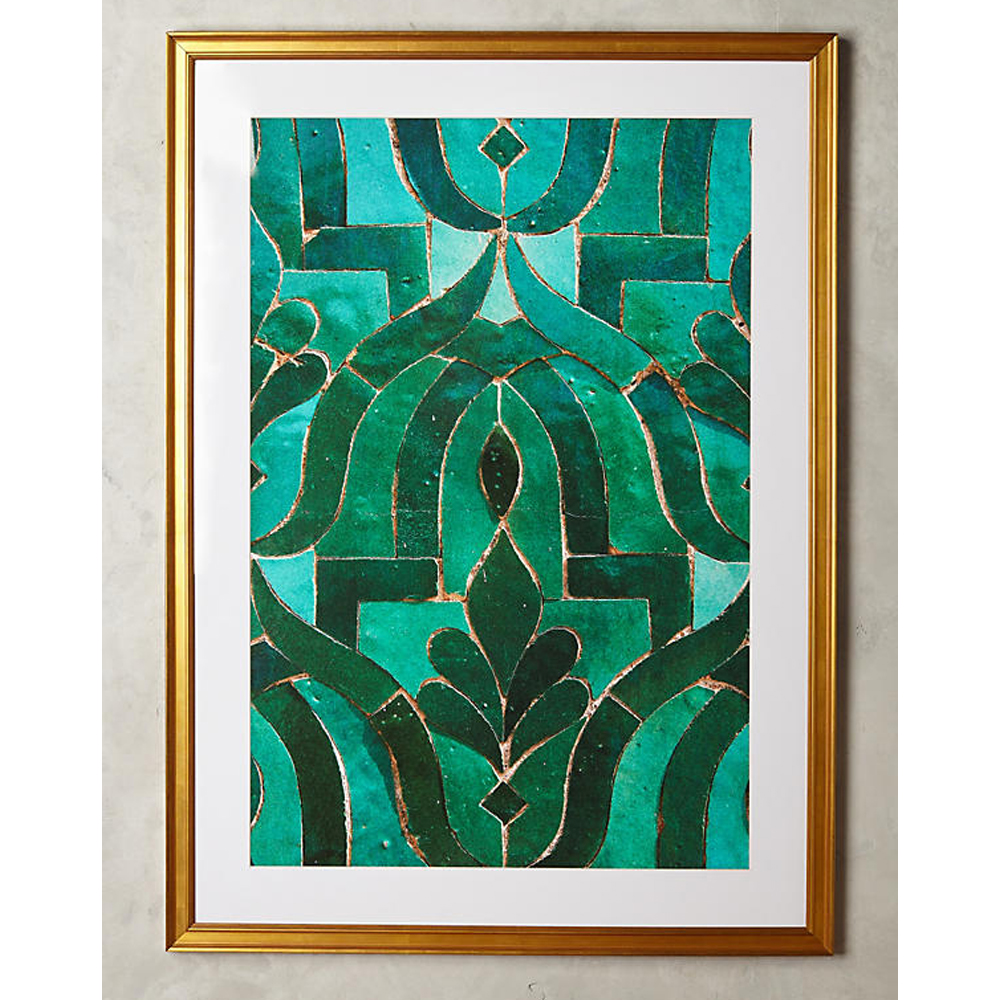 Moroccan Tile Wall Art