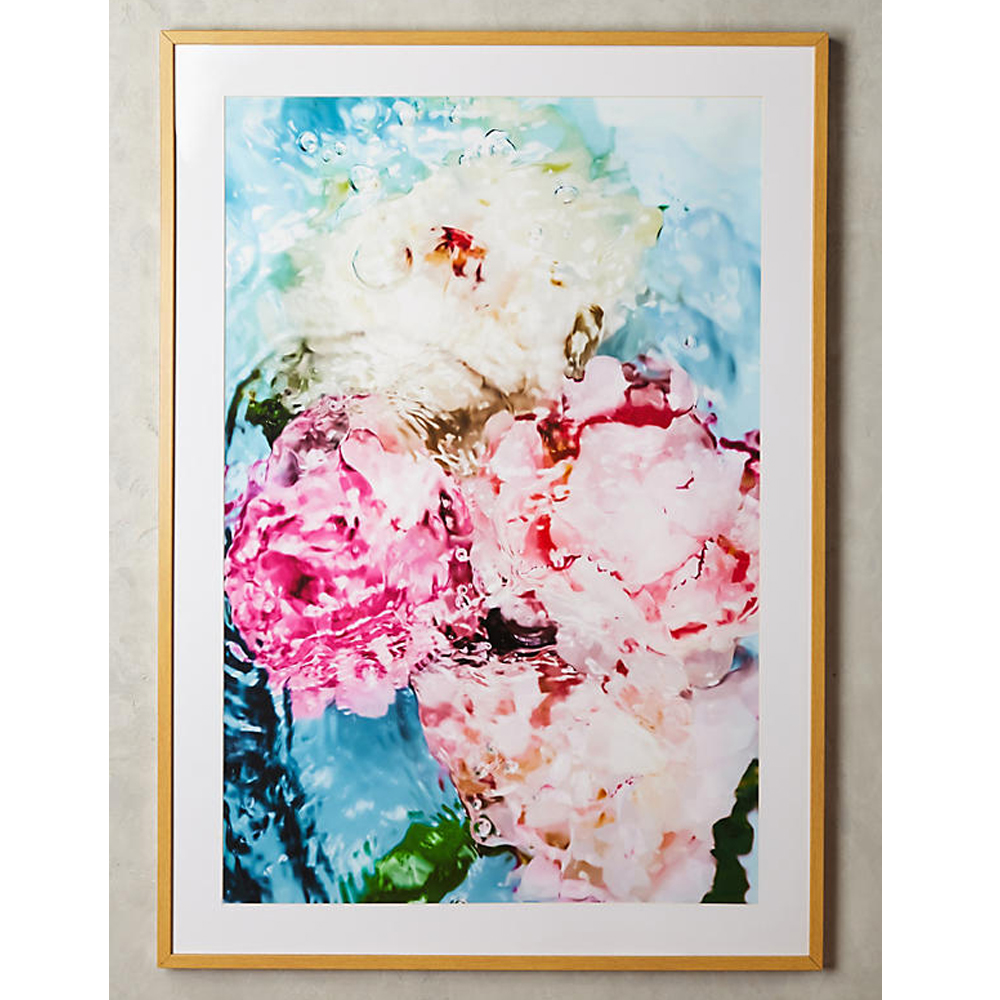 Abstract Floral No. 5 Wall Art