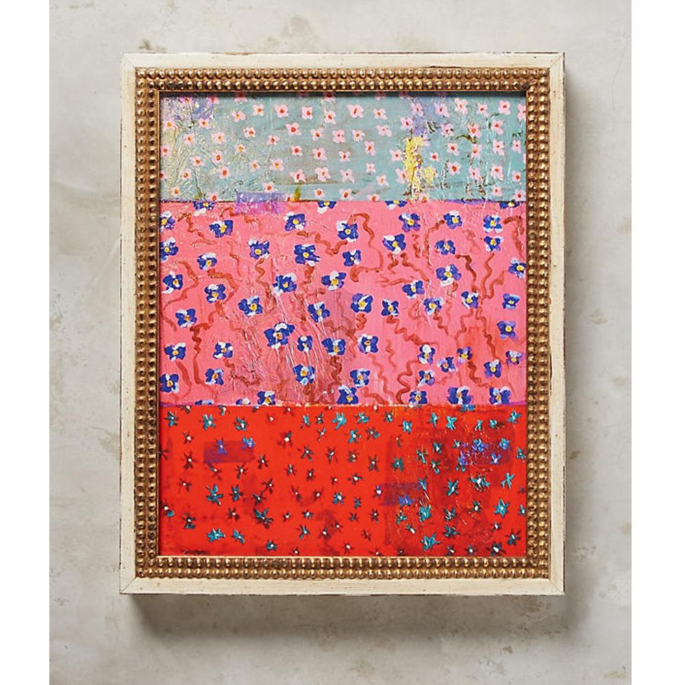 Blue Pink Tomato Wall Art