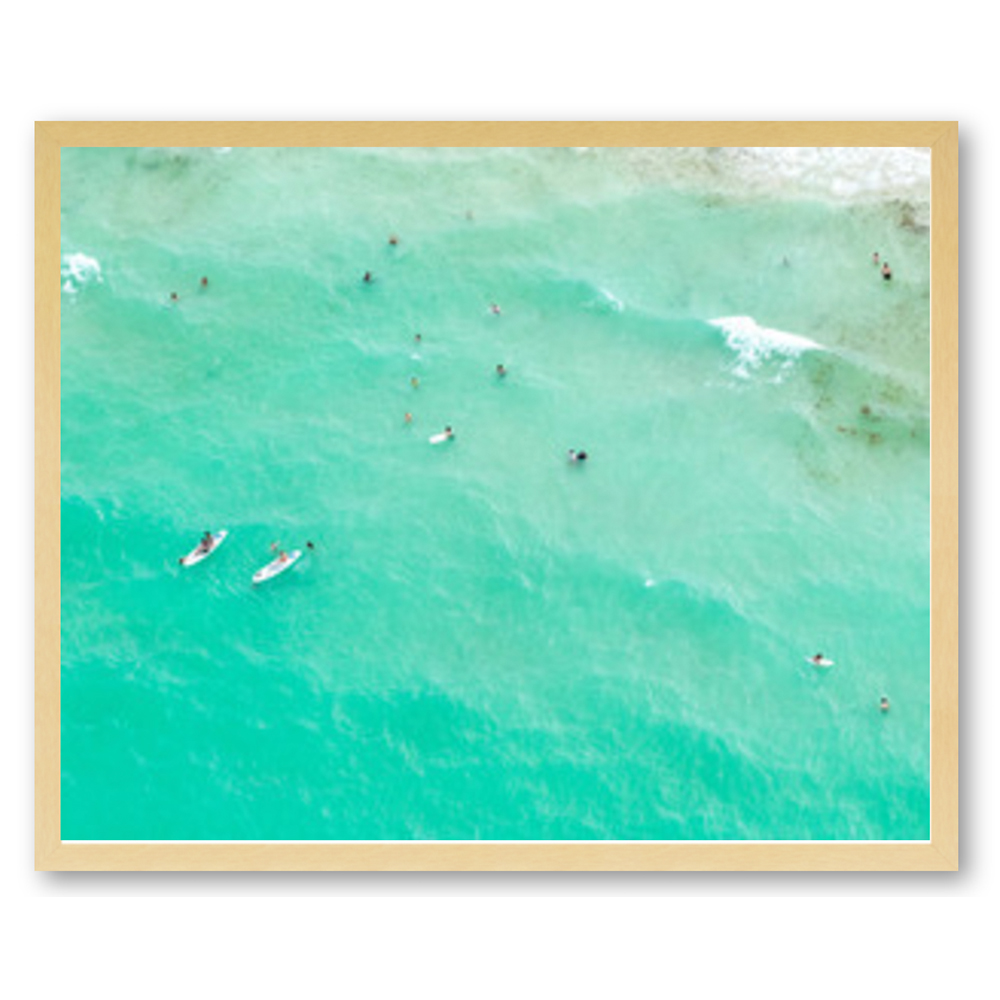 Paddleboarders by Claudia Chloe