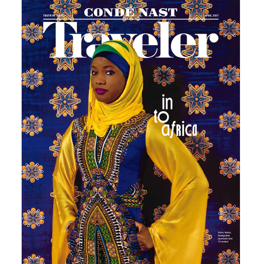 April 2017 Issue of Conde Nast Traveler