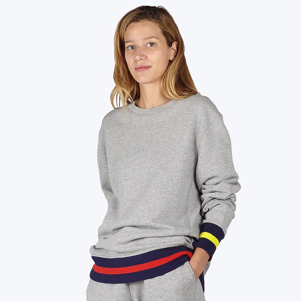 Gillian Mixed-Up Sweatshirt
