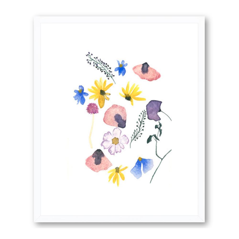 Pressed Flowers by Emily Grady Dodge