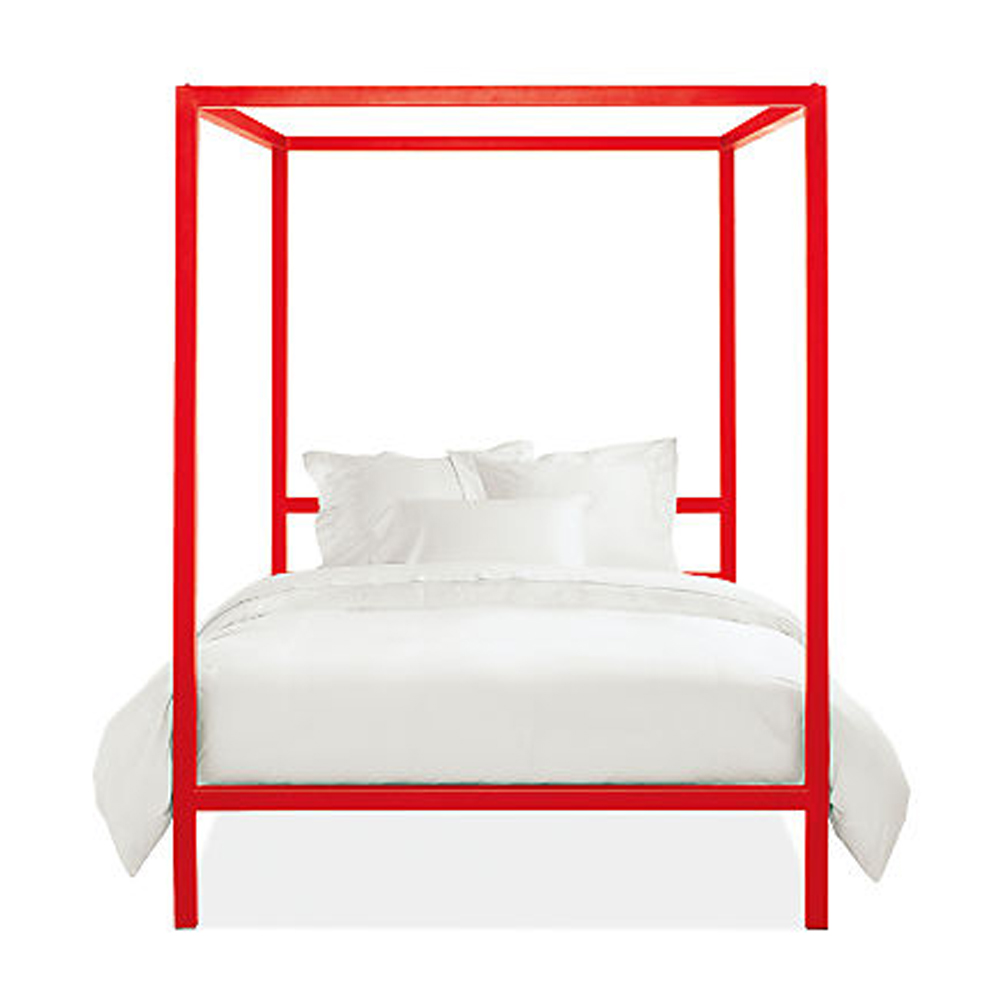 Architecture Bed in Red