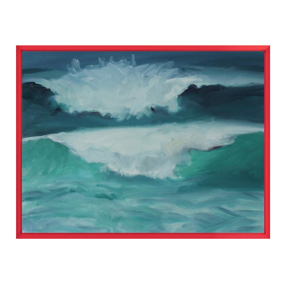 California Coast, Waves by Marie Freudenberger
