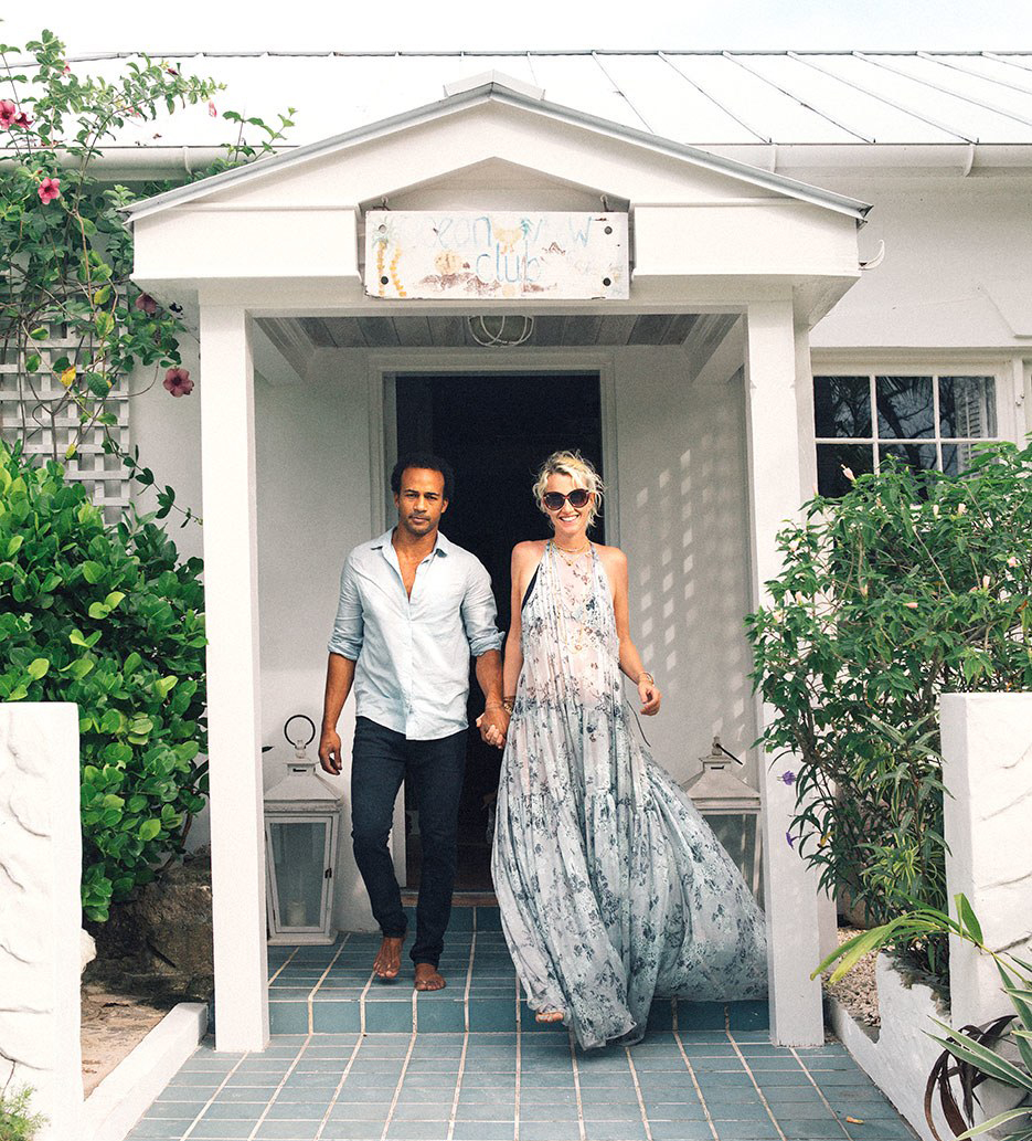 Ben Simmons and Charlotte Phelan, owners of  Ocean View . Photo by  Jenny Gage  for  Conde Nast Traveler .