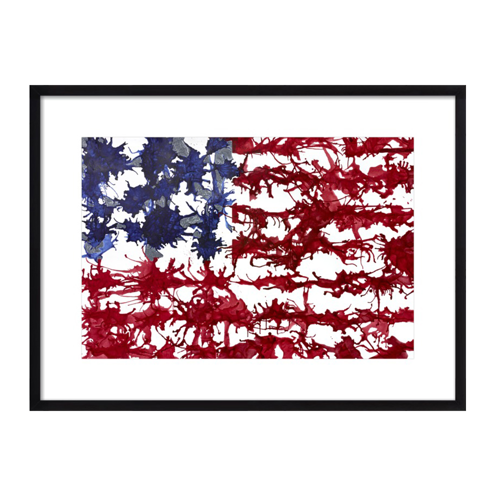 It Bleeds Red White and Blue by Kristin Gaudio Endsley