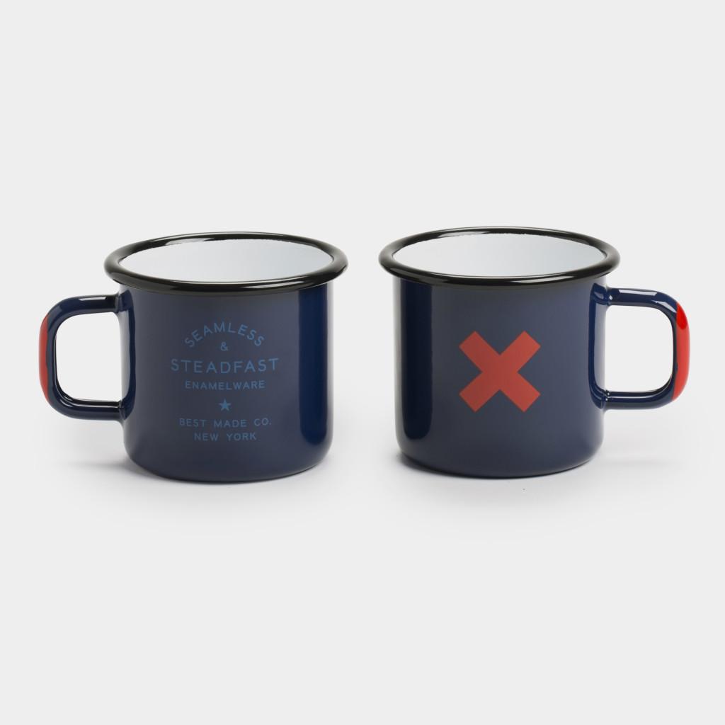 Seamless & Steadfast Enamel Cups