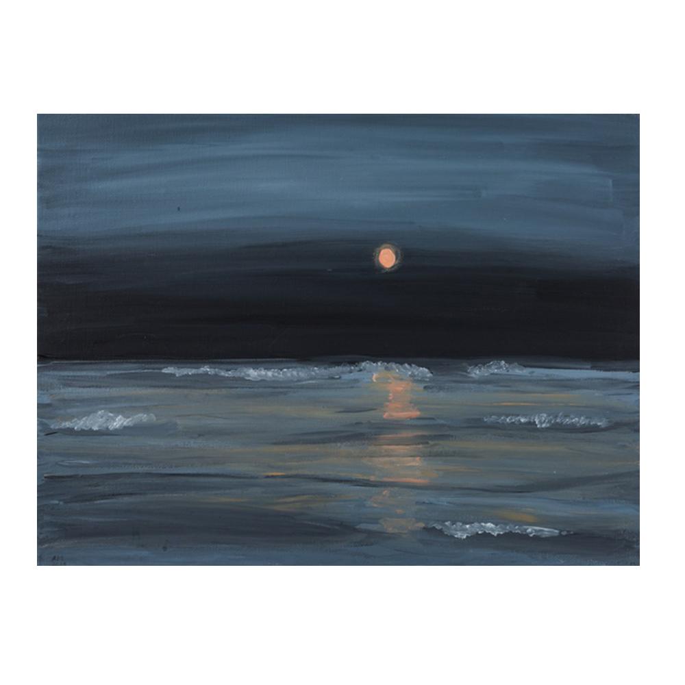 Lake Moonrise by Alli McPhail