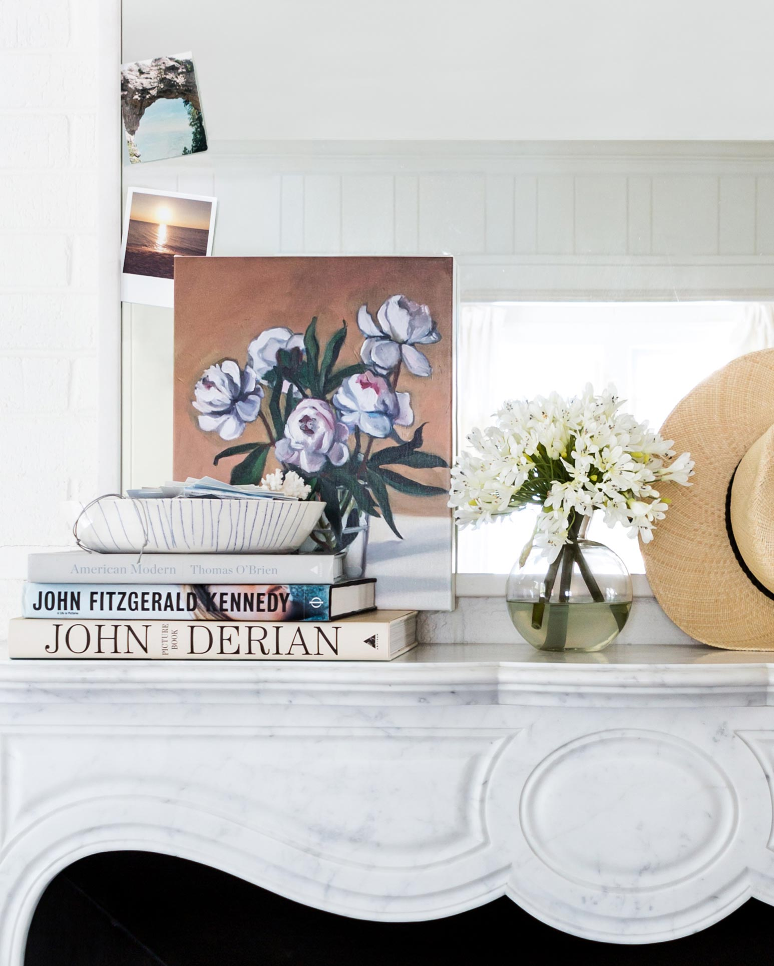 Peonies  by  Marie Freudenberger . Photo by  Marta X. Perez  for Artfully Walls.