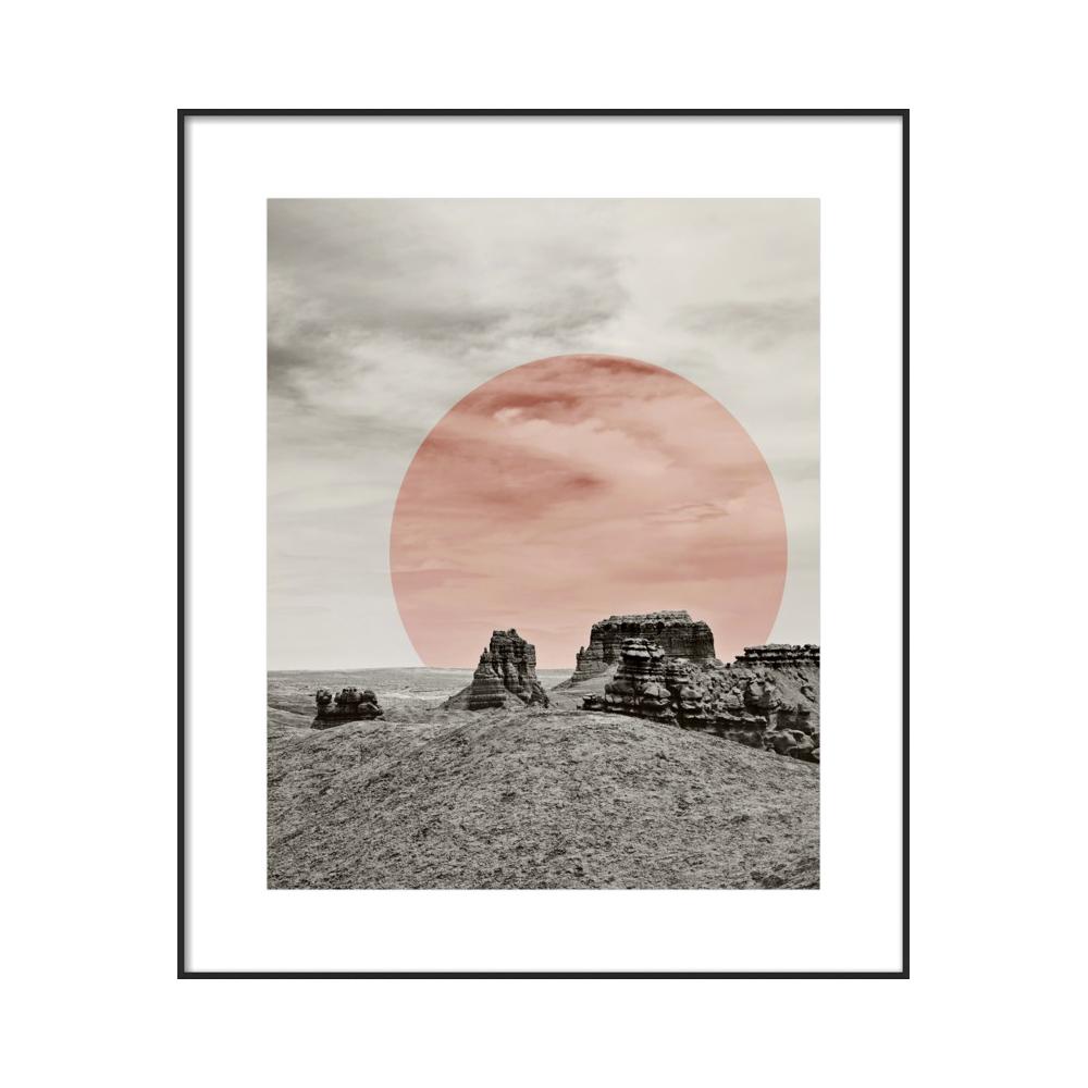 Modern Southwest Desert by Michelle Tavares