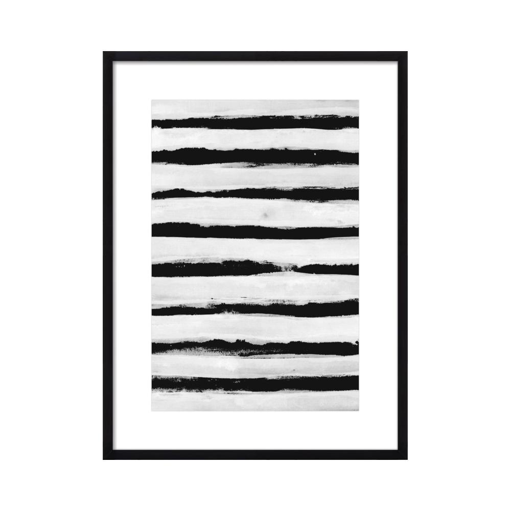 Black and White Stripes by Georgiana Paraschiv