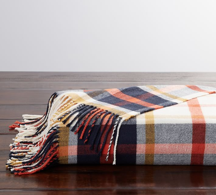 YATE FLANNEL THROW