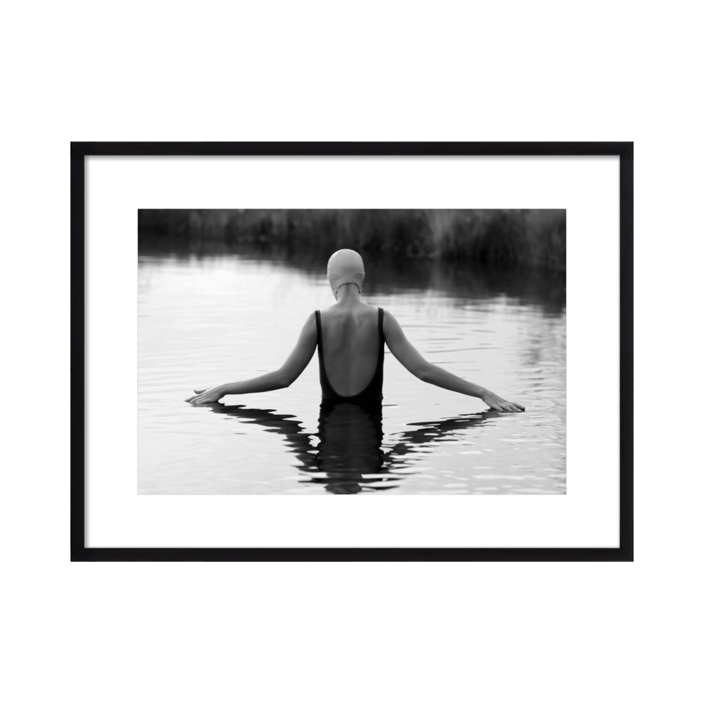 The Swimmer in a Pond by Lucy Snowe