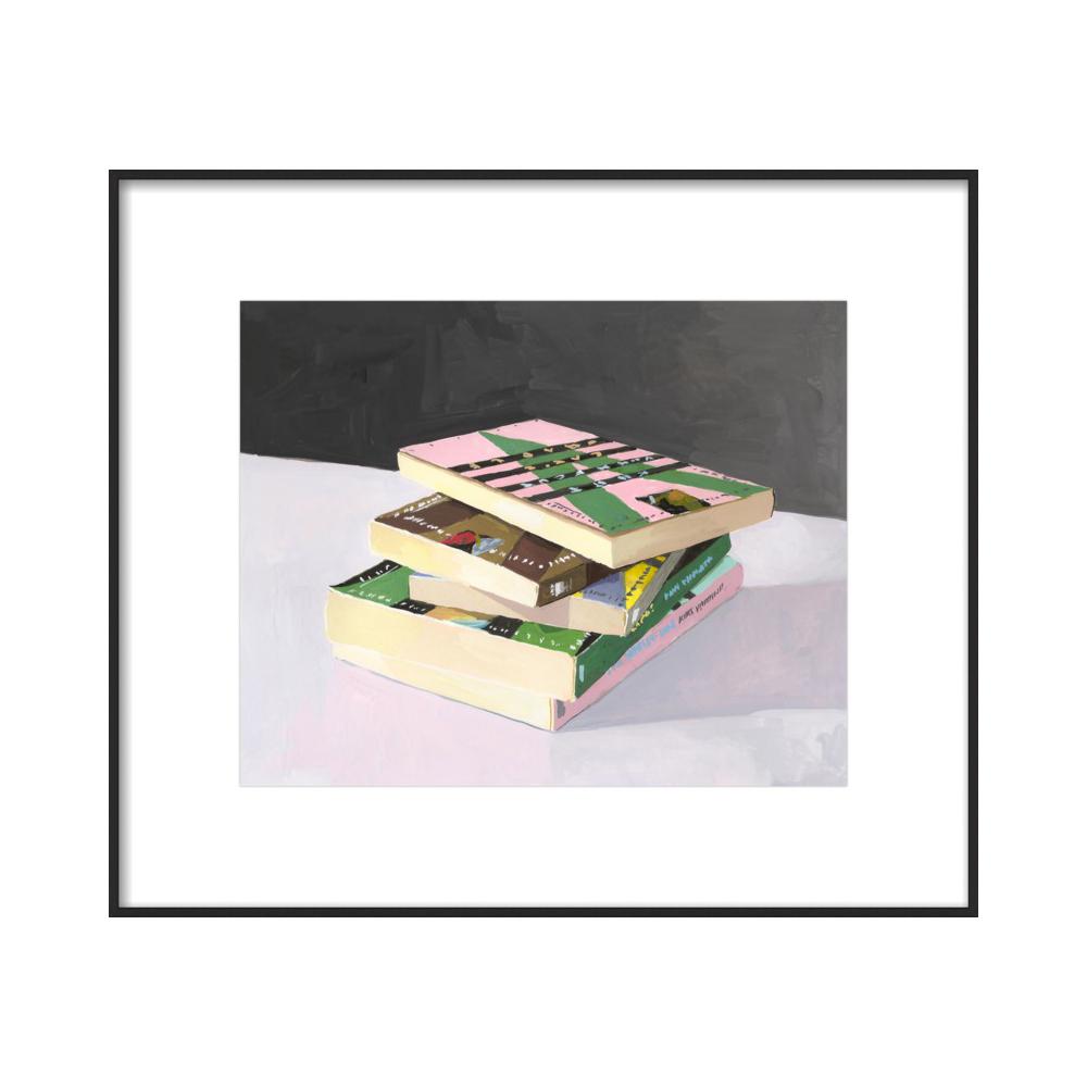 Vonnegut Stack by Elizabeth Mayville