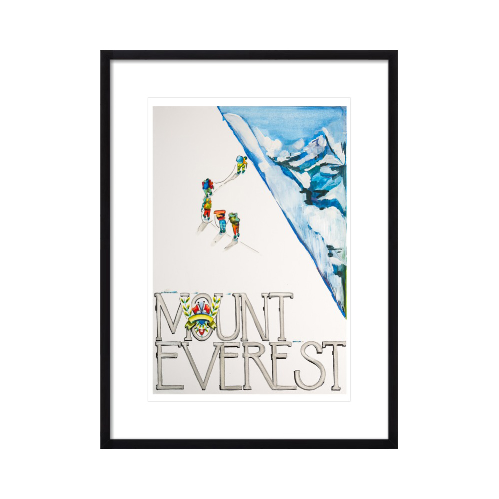 Exploring Mount Everest by Becky Aubry