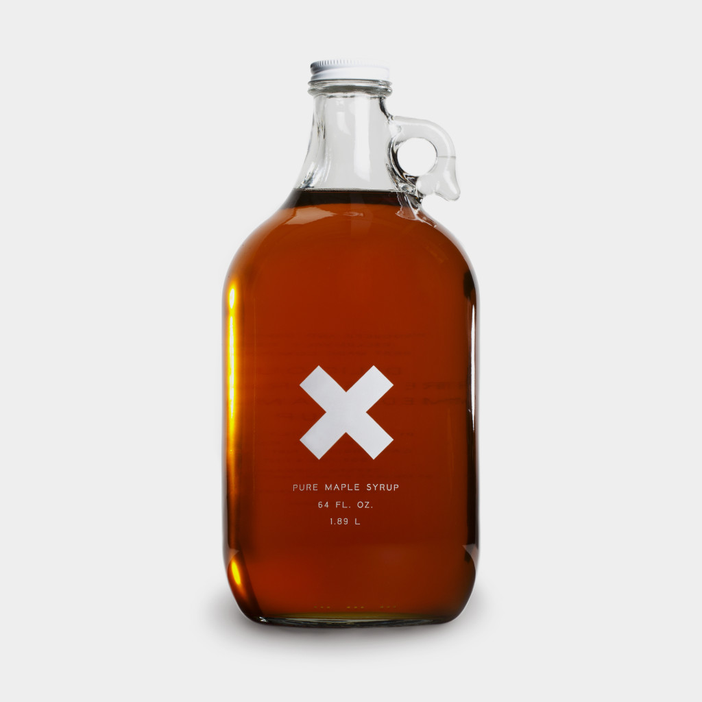 """Big Jug"" of Organic Maple Syrup"