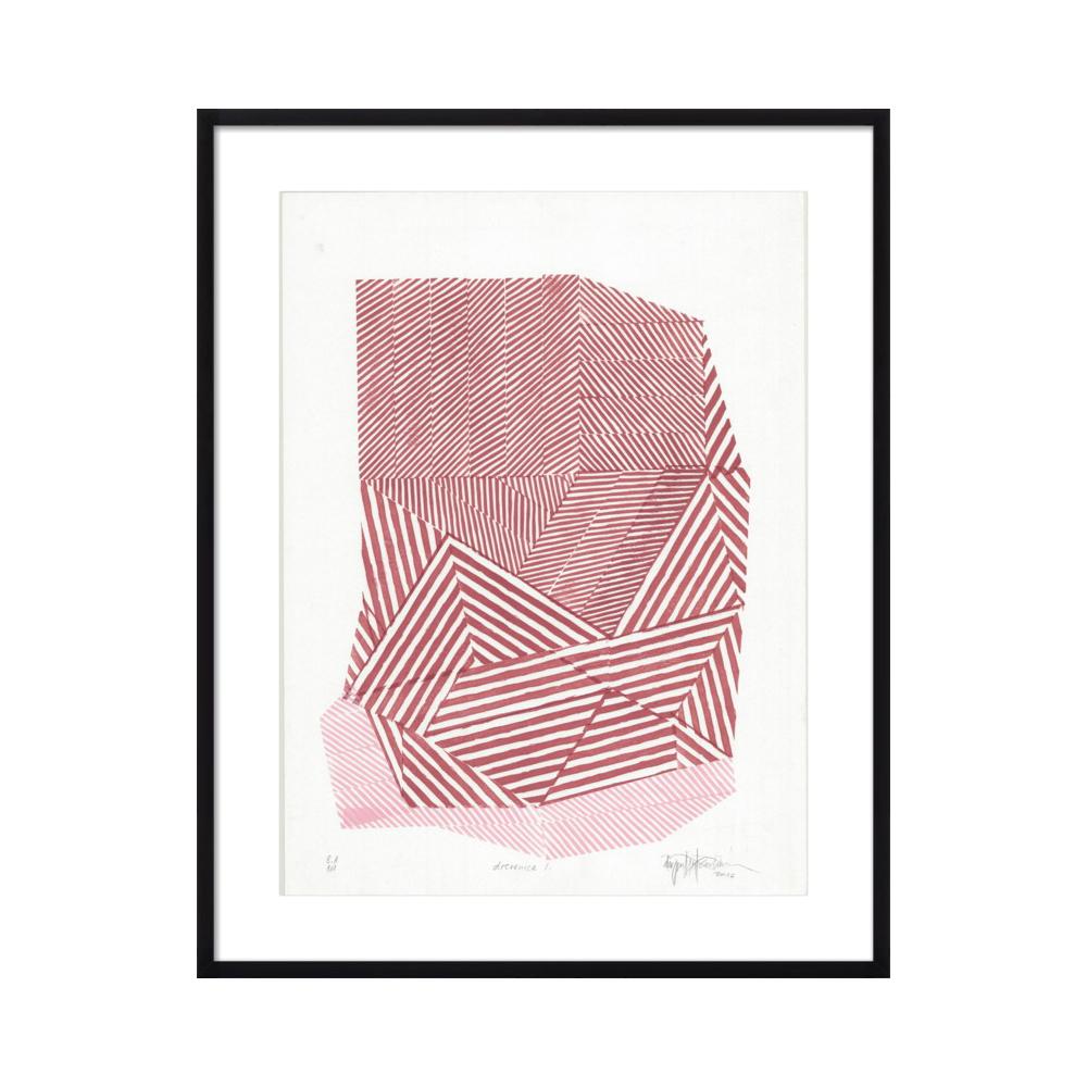 Striped Stone #1 by Paulina Vårregn