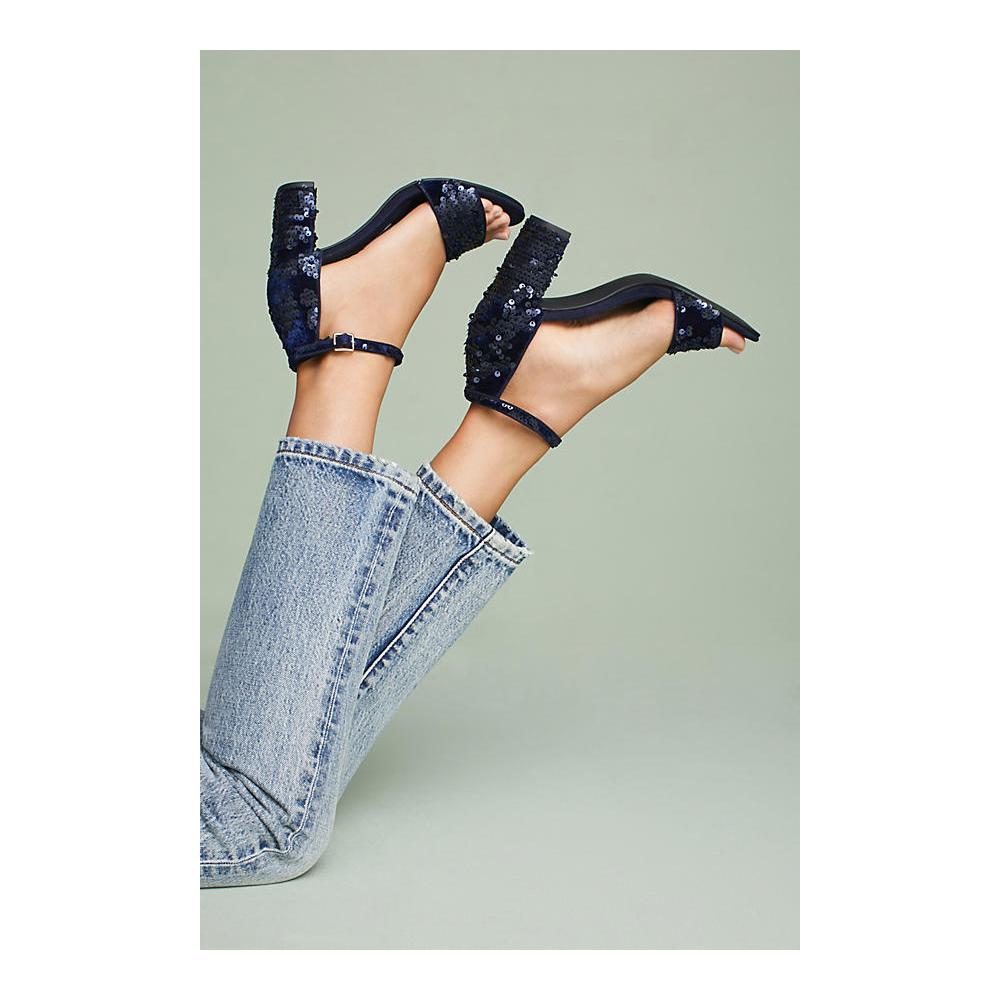Capsule Collective International Nesbie Sequin Heels