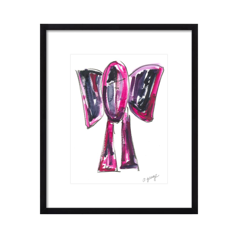 Abstract Elephant by Anthony George