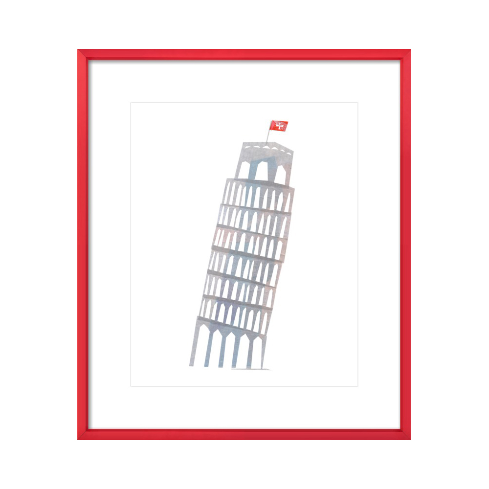 Leaning Tower of Pisa by Darrah Gooden