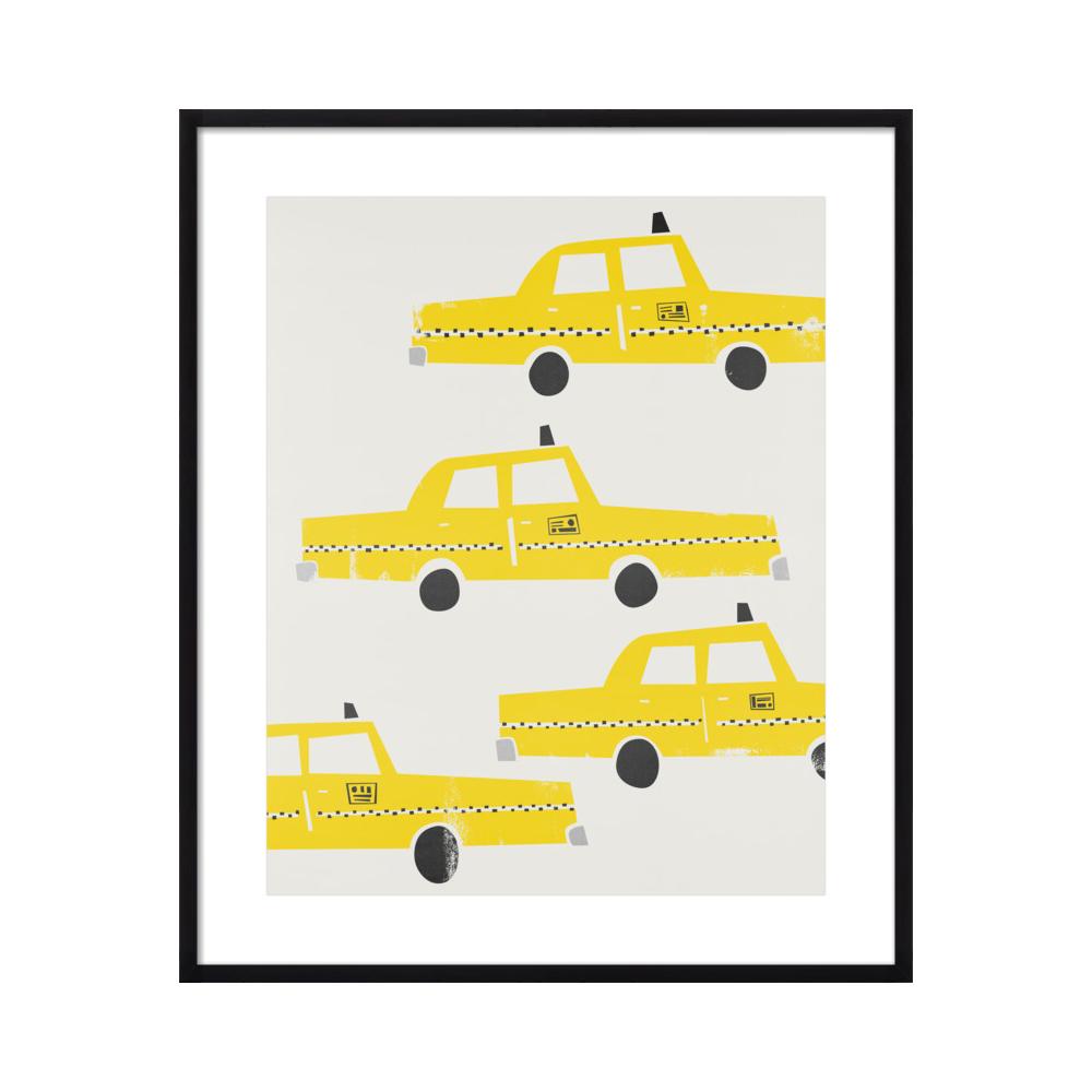 New York Taxis by Mark & Suumin - Fox & Velvet