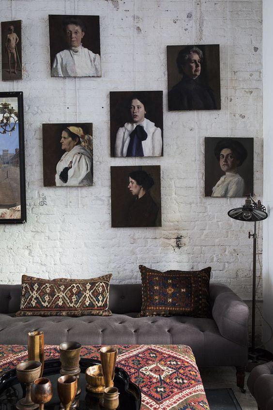 John Derian  furniture store, photographed by  Nicole Franzen .