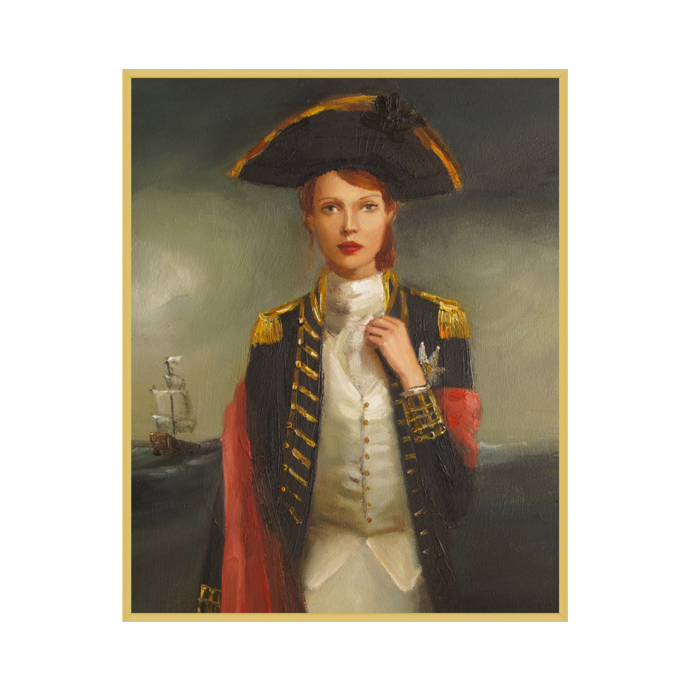 Her Face Launched A Thousand Ships by Janet Hill