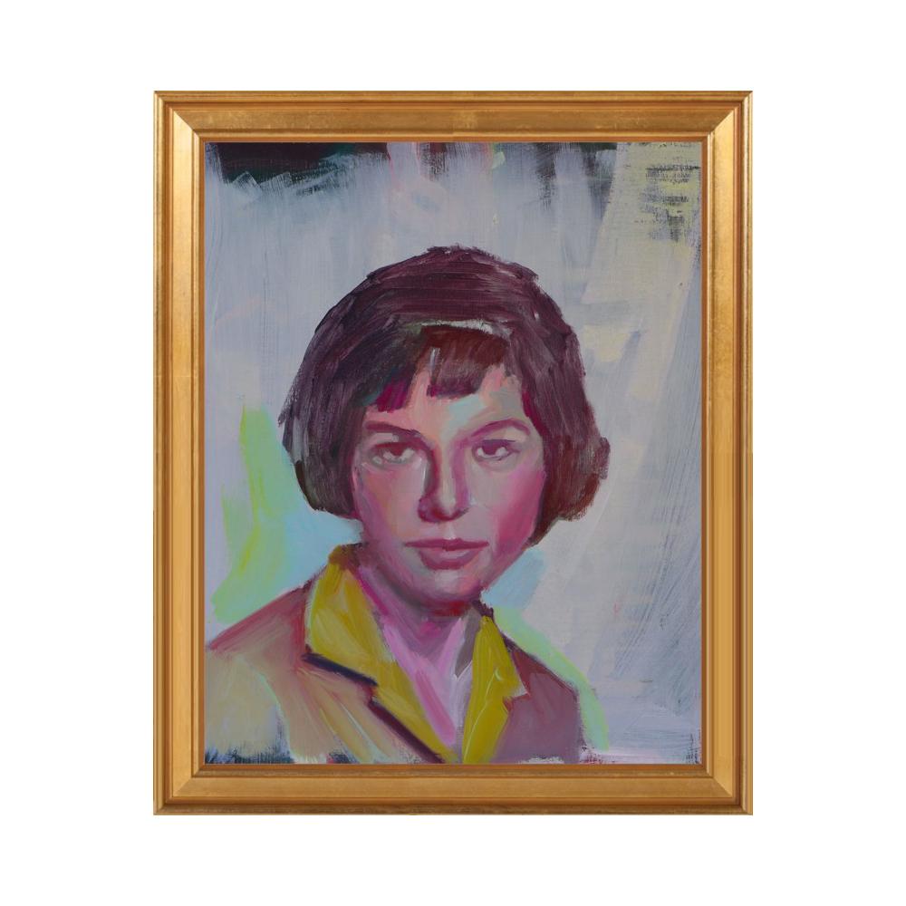 school portrait by Mary Sinner