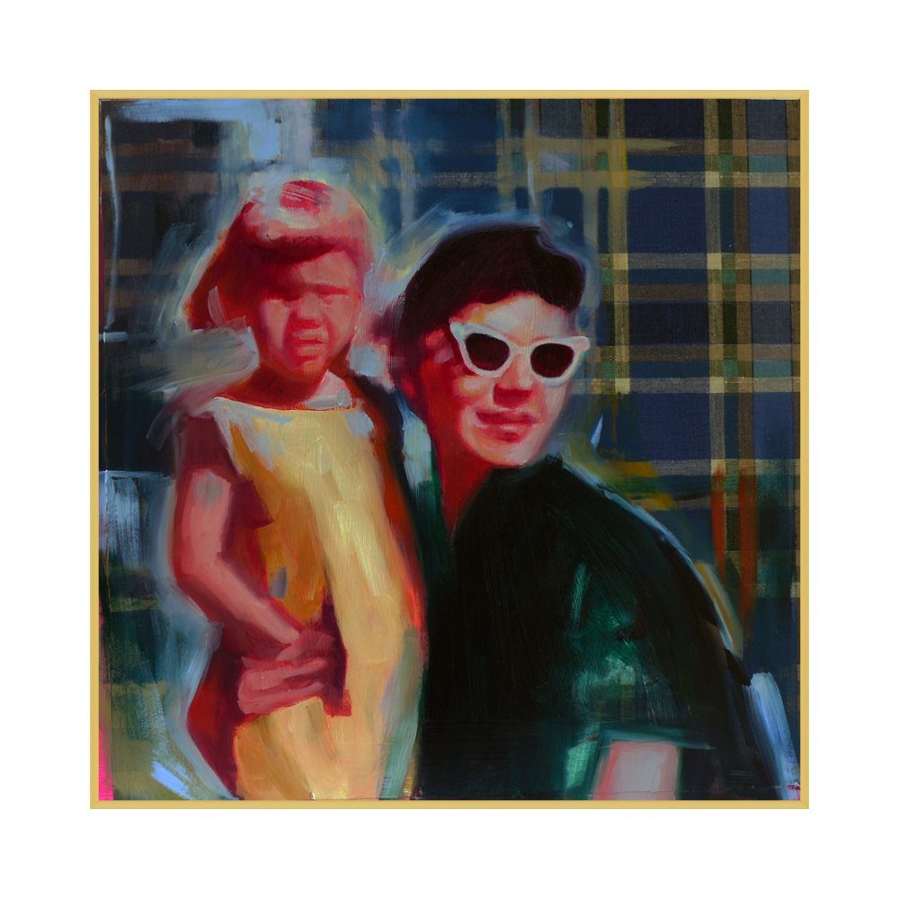portrait (mother and daughter) by Mary Sinner
