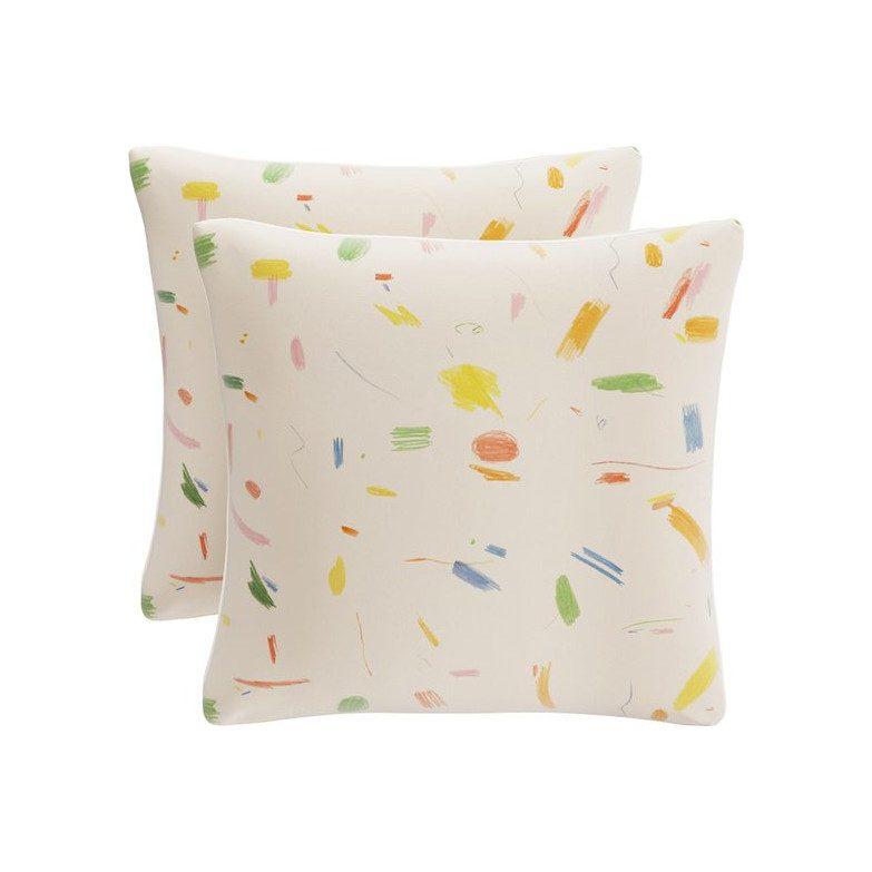 """The Inside x Maisonette 20"""" Throw Pillow, Maisonette Doodle"""