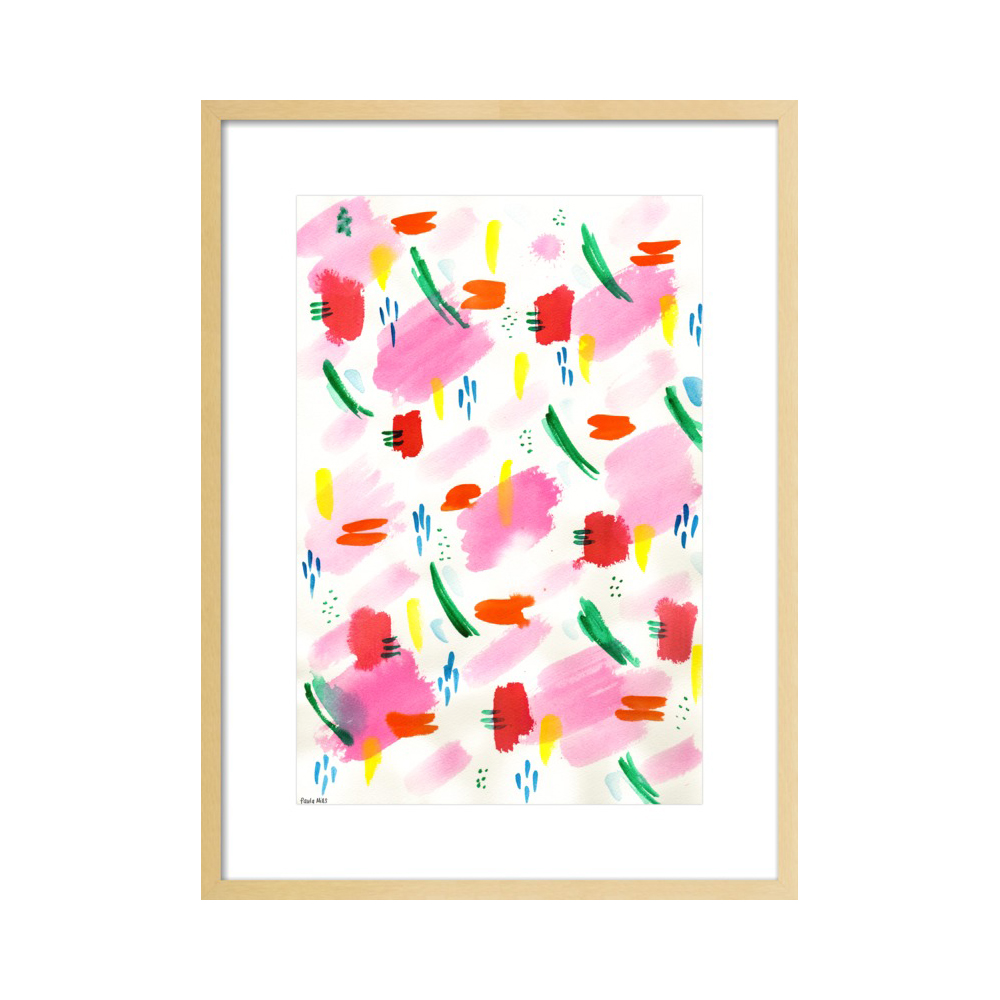 Water Colour Patterns No. 2  BY PAULA MILLS
