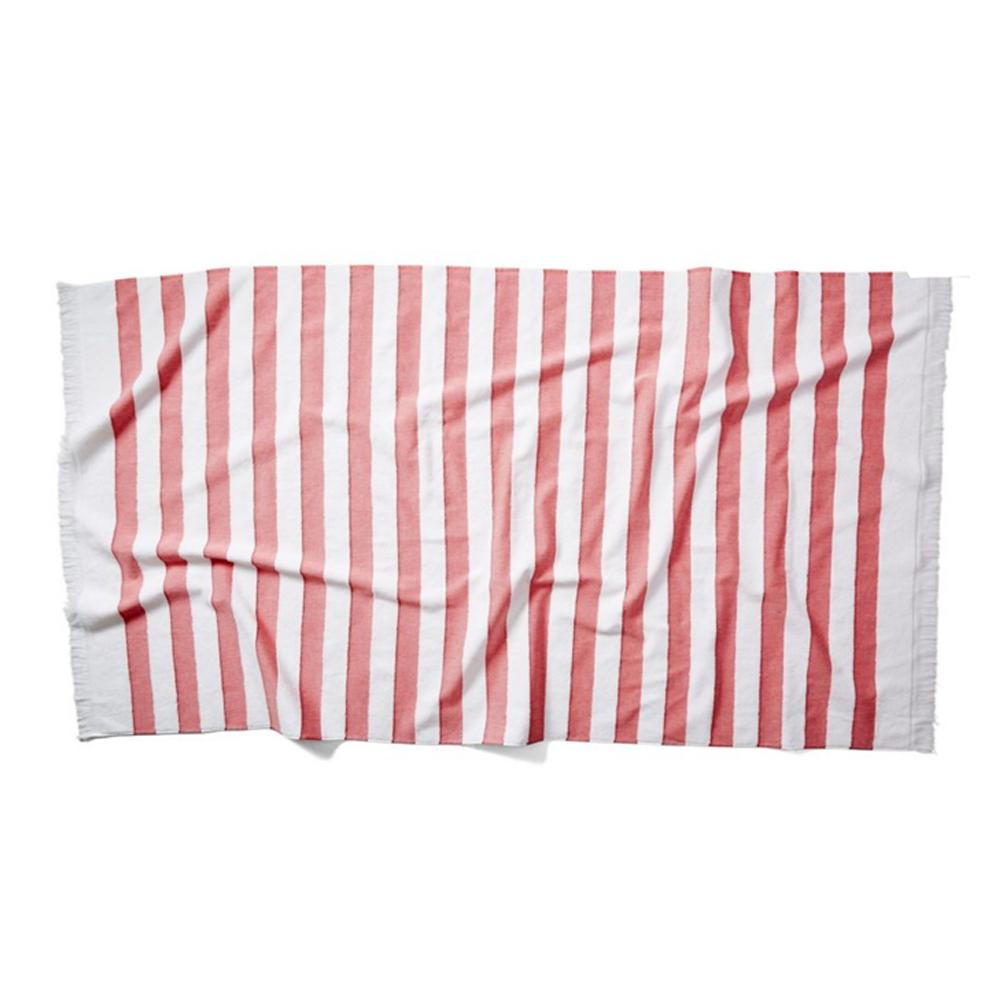 Amado Beach Towel, Red