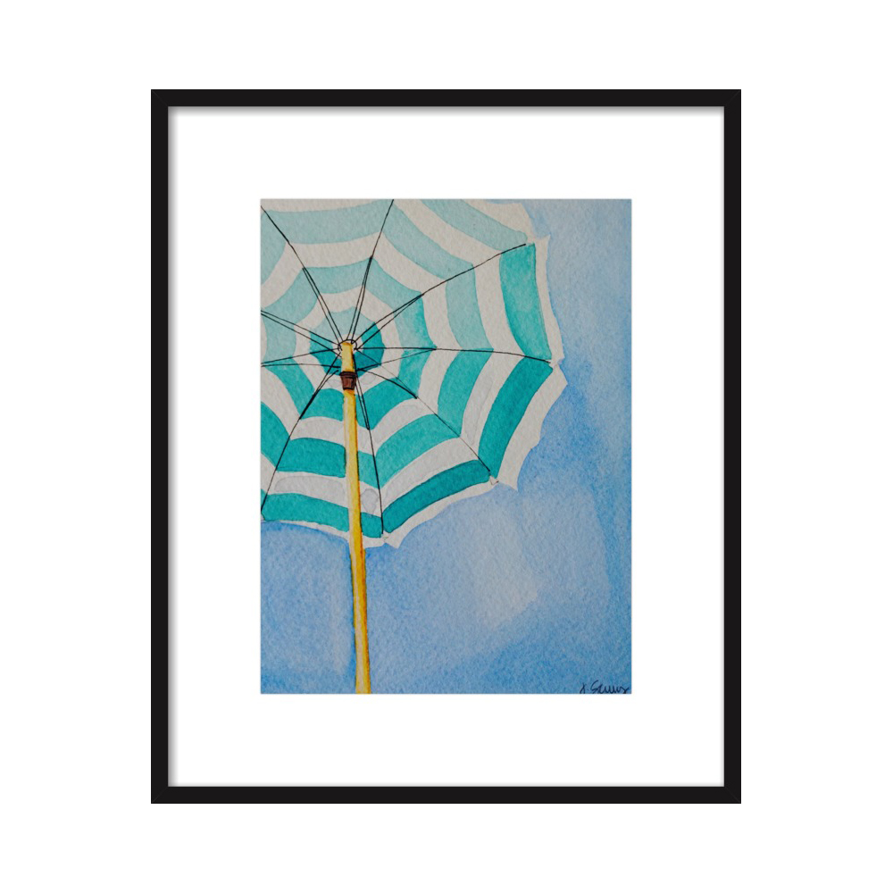 Stripes (Beach Umbrella Series)  BY JEN SCULLY