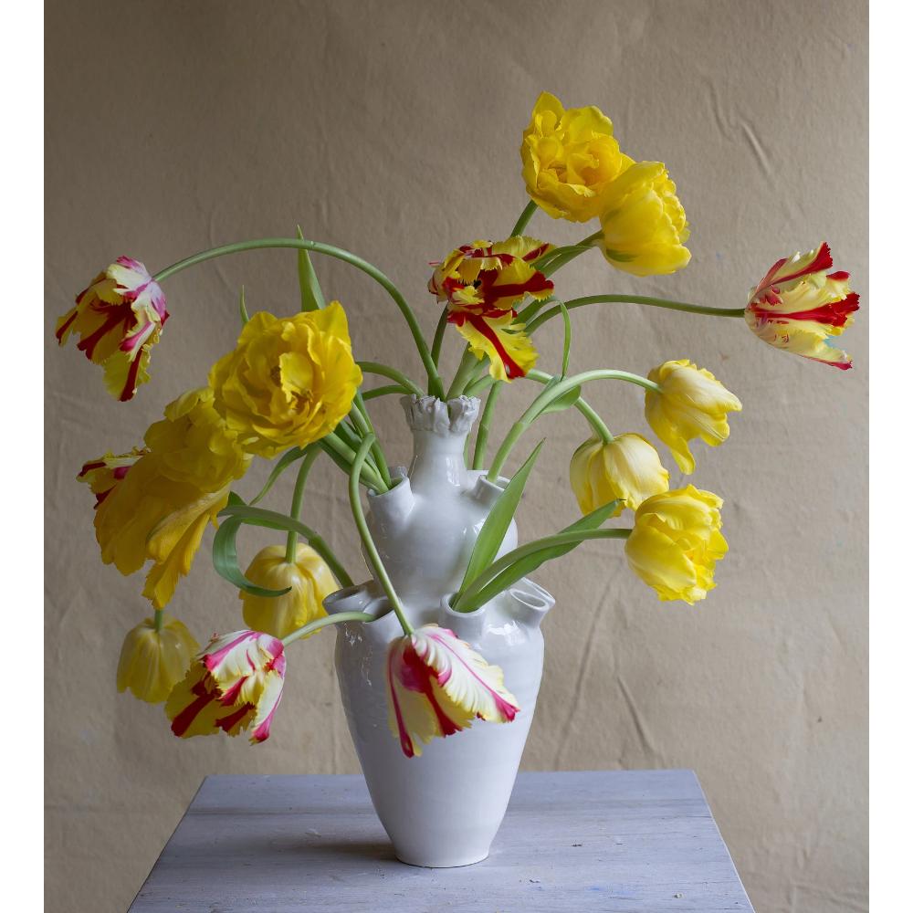 Frances Palmer Thirteen-Spout Tulipiere