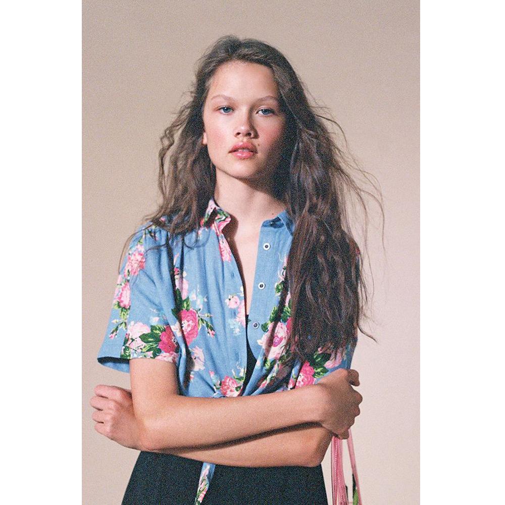 Laura Ashley & UO Launa Button-Down Shirt
