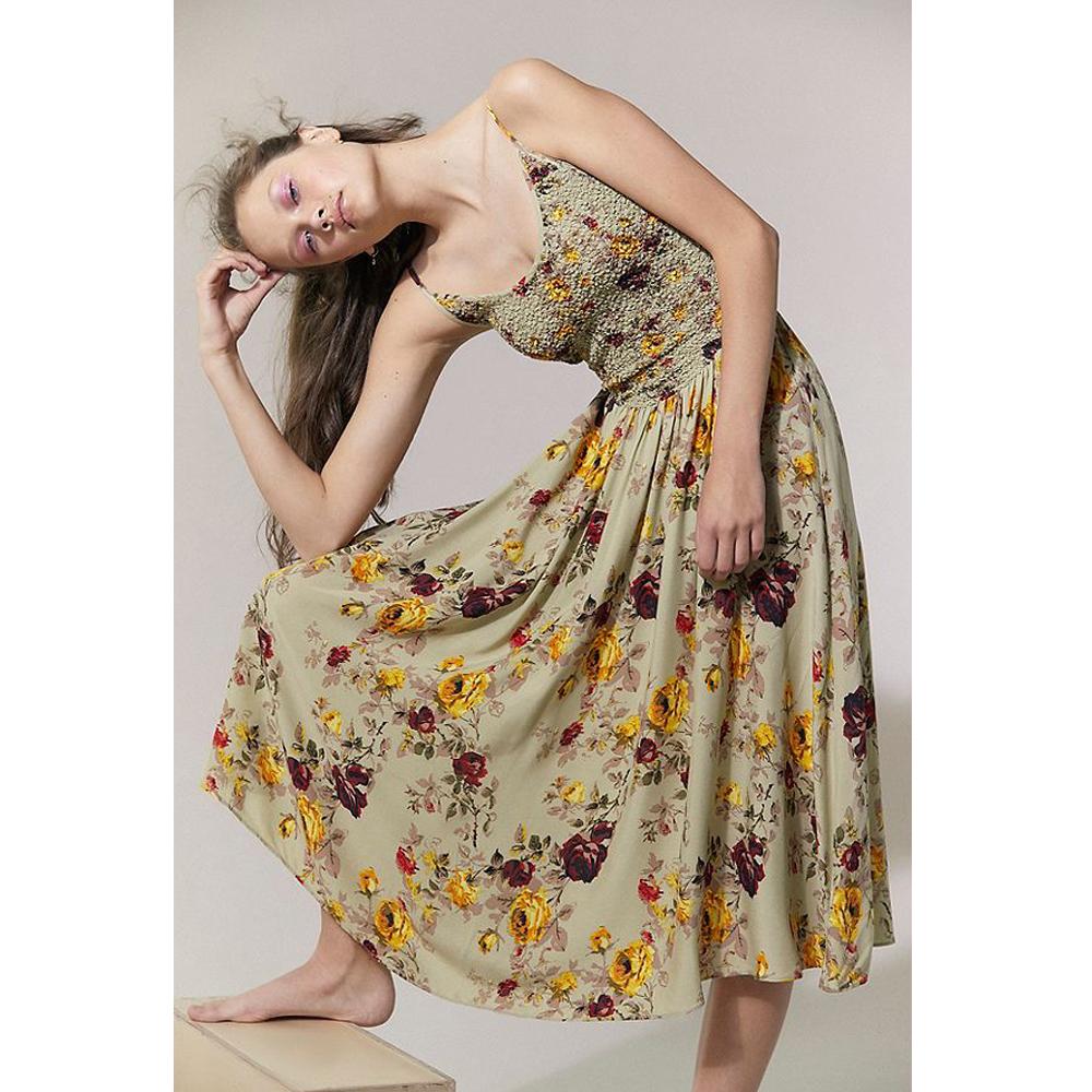 Laura Ashley & UO Lauralee Midi Dress