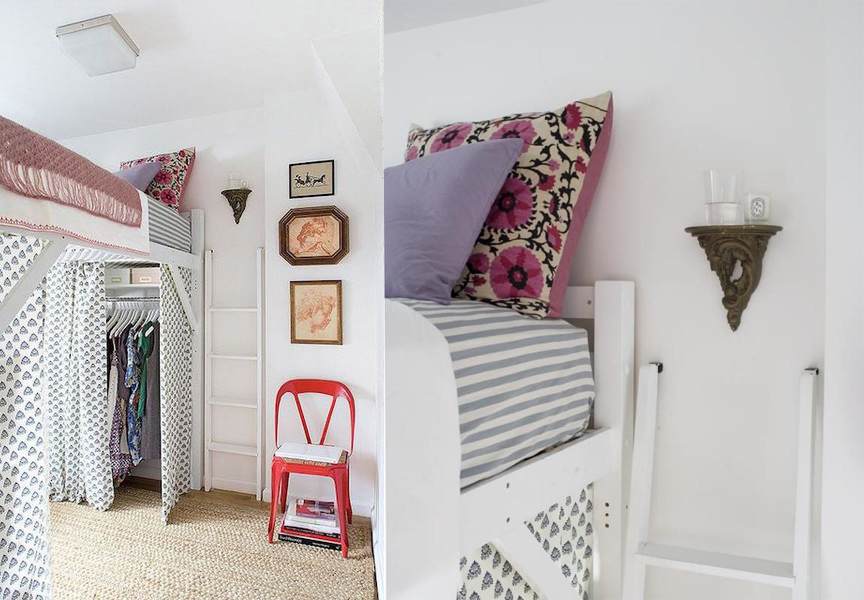 Our inspiration: cozy, stylish, organized and efficient. Photos by  Lesley Unruh  for  Domino