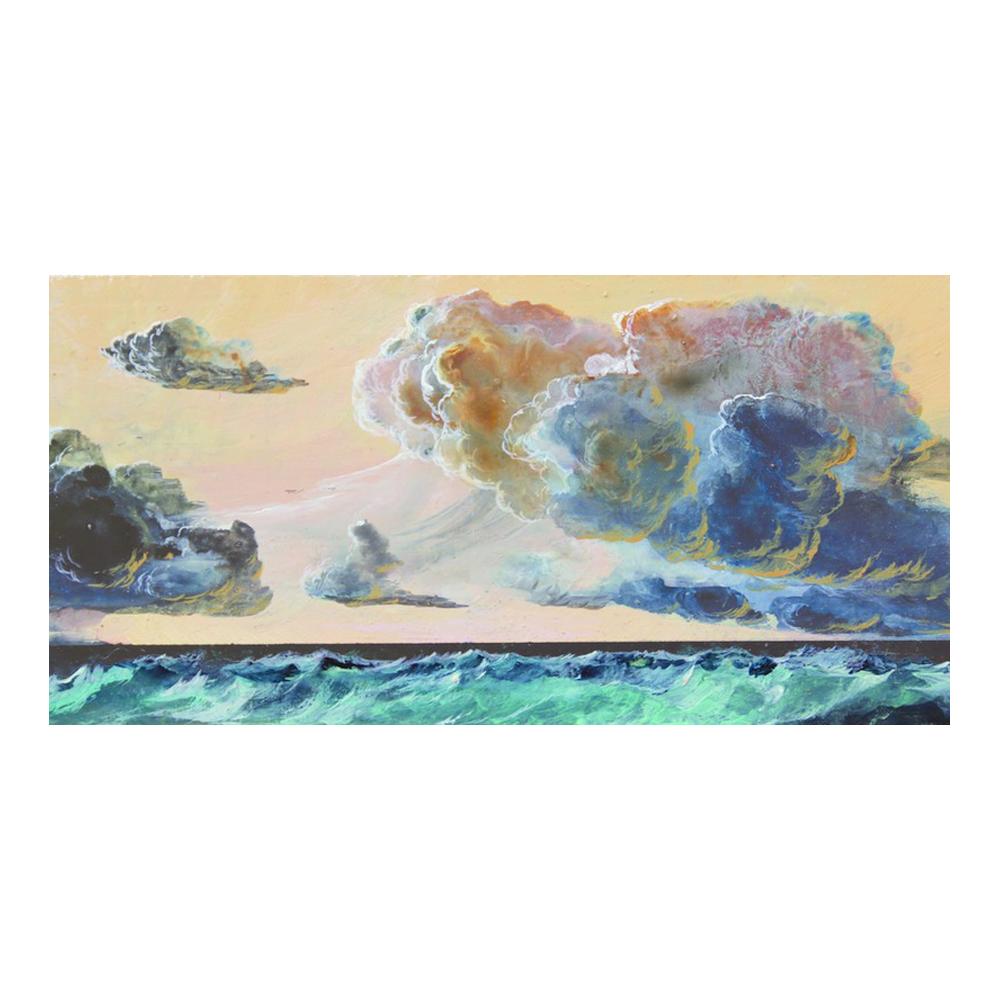 Seascape 0714 (on canvas)  BY SEBASTIAN KENEAS, $70
