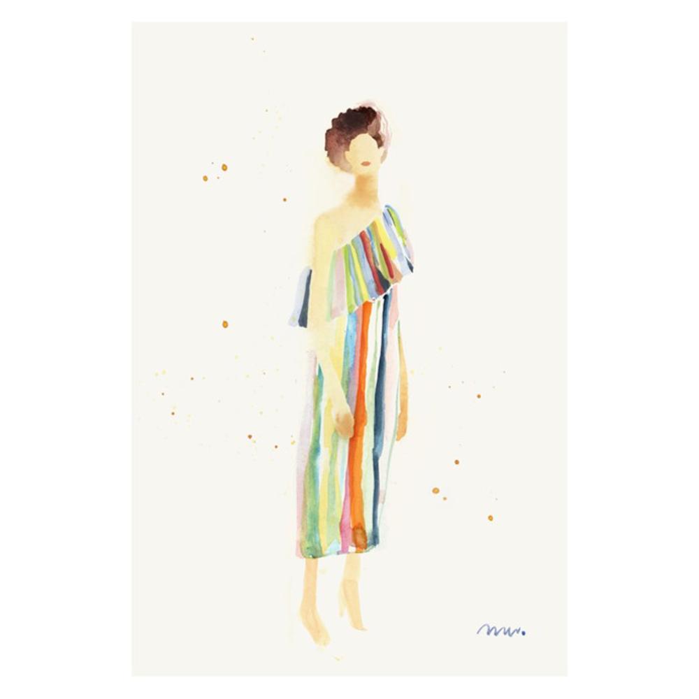 Rainbow Dress  BY META WRABER