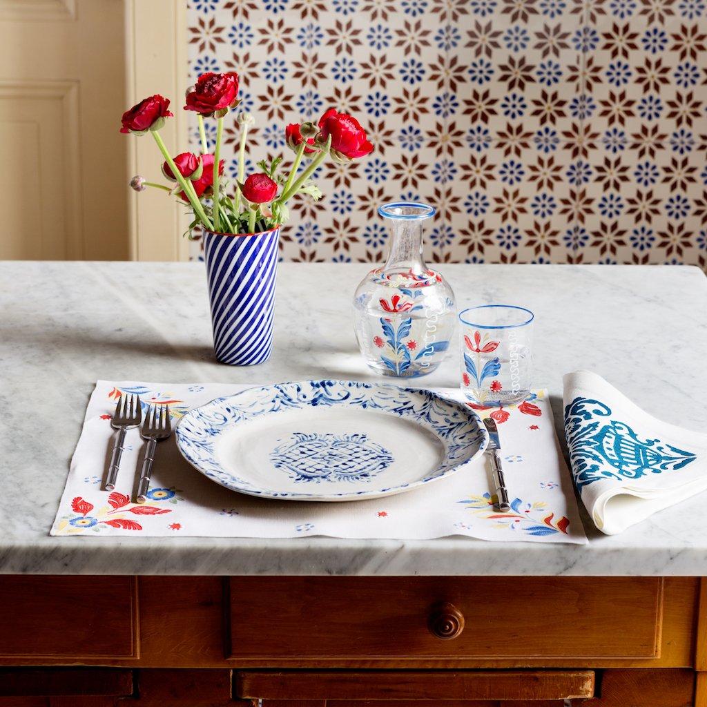 Table setting from  Casa Cabana .